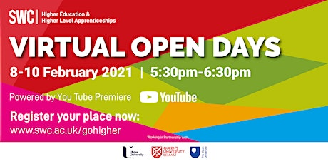 HE Virtual Open Day - Built Environment, Creative and Life Sciences tickets