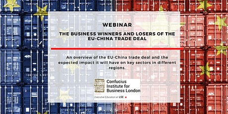 Webinar: The business winners and losers of the EU-China trade deal tickets