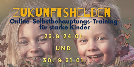 Zukunftshelden - Online Selbstbehauptungstraining für Kinder Tickets