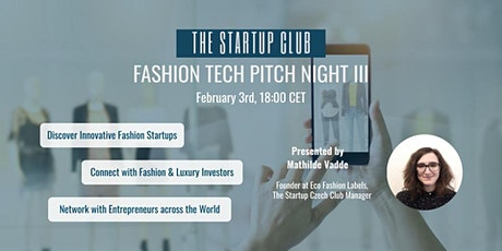 FASHION TECH PITCH NIGHT Tickets