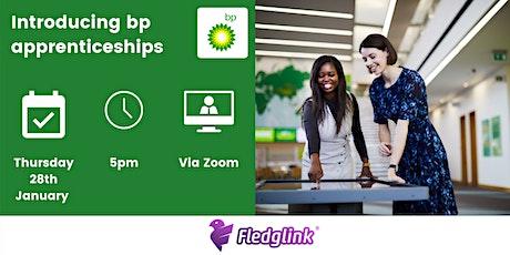 Introducing bp apprenticeships! tickets