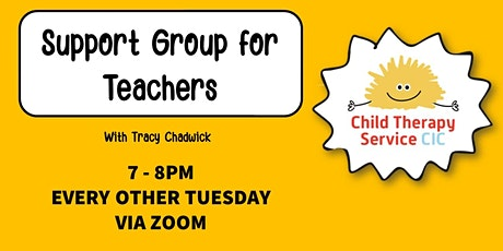 Support Group for Teachers tickets