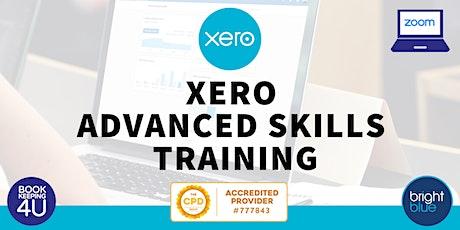Xero Advanced Skills CPD Online Training tickets