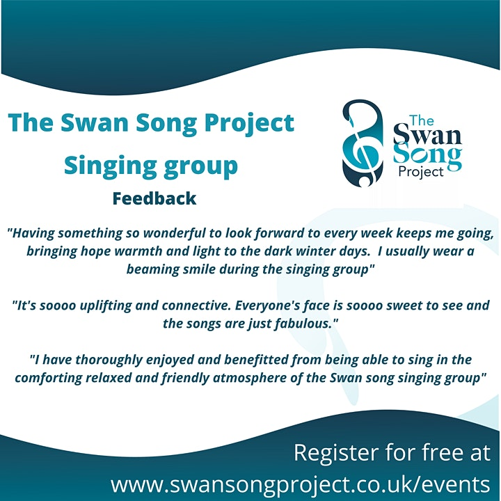 The Swan Song Project Singing Group - National Day of Reflection Special image