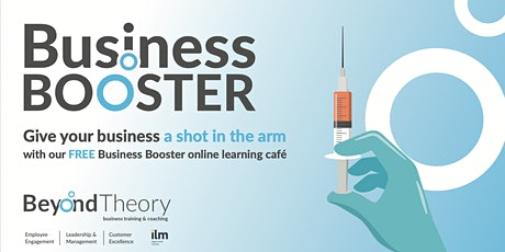 Business Booster: online learning cafe tickets