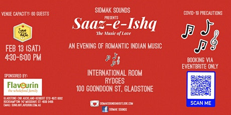 Saaz-E-Ishq - An evening of romantic Indian music tickets