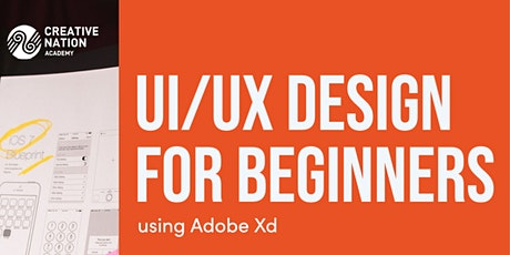 UI/UX Design for Beginners using Adobe Xd tickets