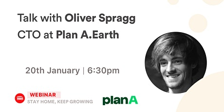 [Talk] Oliver Spragg - CTO at Plan.A Earth tickets