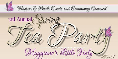 Flappers & Pearls 3rd Annual Spring Tea tickets