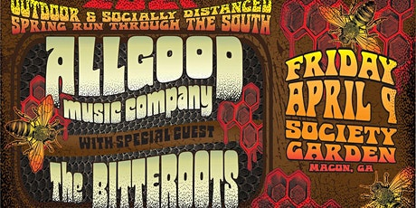Allgood and The BitterRoots  Play the Garden tickets