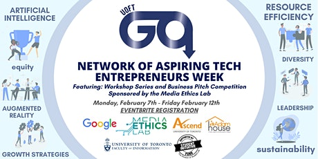 NATE: Network of Aspiring Technology Entrepreneurs tickets
