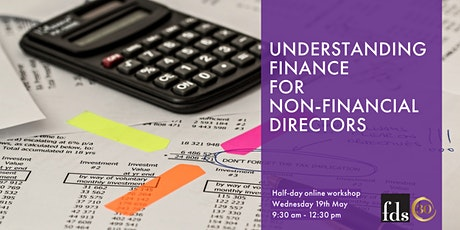 Understanding Finance for Non-Financial Directors tickets
