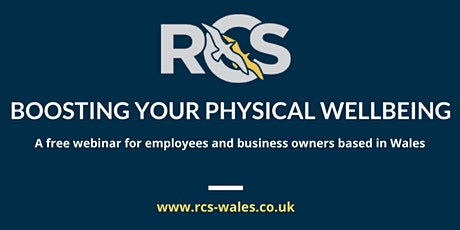 Boosting your Physical Wellbeing tickets