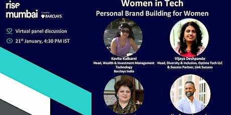 Women in Tech: Personal brand building for Women tickets