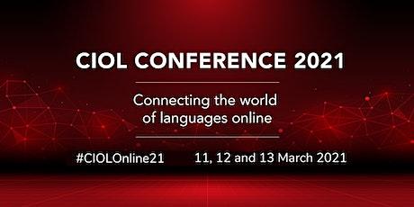 CIOL Conference 2021 tickets
