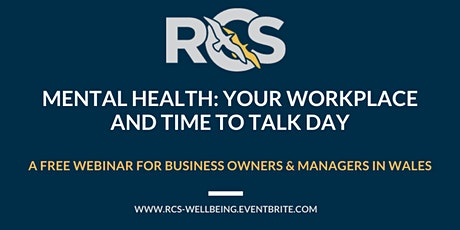 Mental Health: Your Workplace & Time to Talk Day tickets