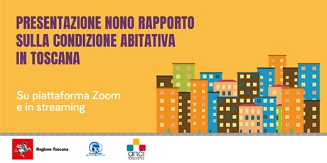 Abitare in Toscana - Nono Rapporto sulla condizione abitativa biglietti