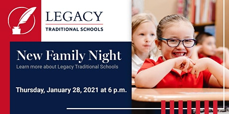 Virtual New Family Night - Chandler tickets