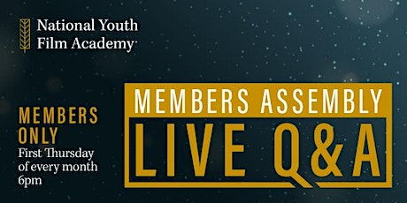 National Youth Film Academy Member Assembly tickets