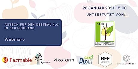 AgTech Start-ups für den Obstbau 4.0 in Deutschland von KOB Tickets
