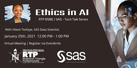 Ethics in AI - SAS Tech Talk Series tickets
