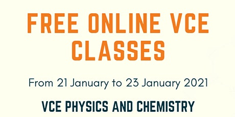 VCE Physics tutoring (online) tickets