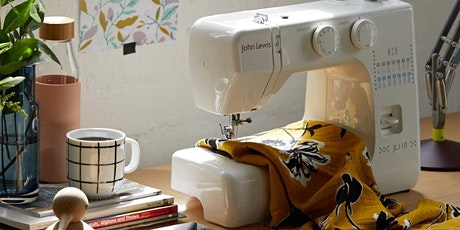 SEWING MACHINE CLASS FOR BEGINNERS - FREE tickets