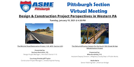 ASHE Pittsburgh Section January Meeting tickets