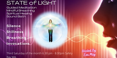 State of Light - meditation, mindful breathing, self-empowerment, healing. tickets