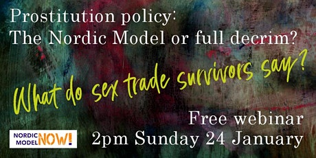 Prostitution policy: The Nordic Model or full decriminalization? tickets