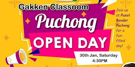 Gakken Open Day - Pusat Bandar Puchong tickets