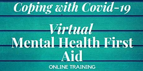 Online Mental Health First Aid tickets