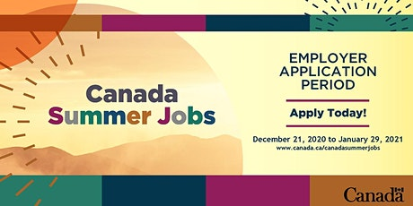 Canada Summer Jobs 2021 Teleconferences - Western Canada and Territories tickets