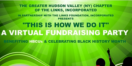 This Is How We Do It! A Virtual Fundraising Party tickets