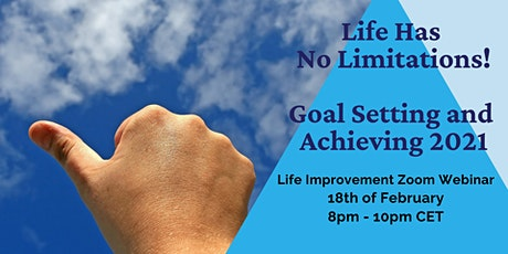 Goal Setting and Achieving 2021 - Online Personal Growth Event tickets