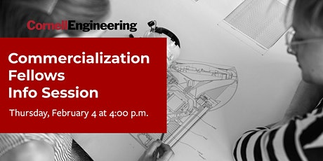 Commercialization Fellows Information Session tickets