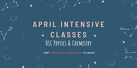 HSC Physics and Chemistry April Intensive (Online Classes) tickets