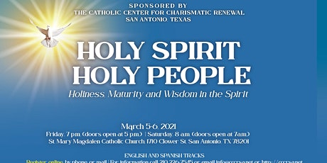Holy Spirit, Holy People:  Holiness, Maturity and Wisdom in the Spirit tickets
