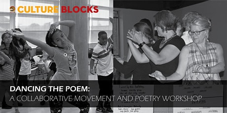 Dancing the Poem: A Virtual  creative movement and poetry workshop for KIDS tickets