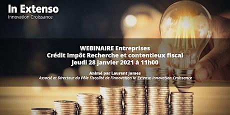 Crédit Impôt Recherche & Contentieux fiscal tickets