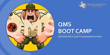 QMS Bootcamp -  Implementing a Quality Management System | Session 1 tickets