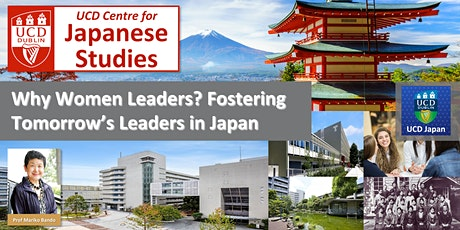 Launch Webinar: Why Women Leaders? Fostering Tomorrow's Leaders in Japan tickets