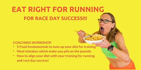 Eat Right for Your Marathon Training tickets