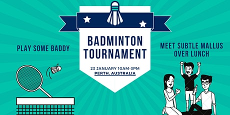 SMT Badminton Tournament and Lunch (Perth Chapter) tickets