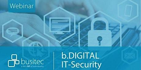 IT-Security: Geräte und Daten wirksam schützen Tickets