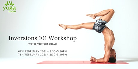 Inversions 101 Workshop with Victor Chau tickets