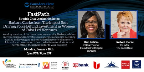 FastPath Fireside Chat with Barbara Clarke tickets