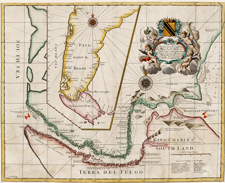 UoP History Webinar - The Maps of the Narbourgh Expedition (1669-1671) image