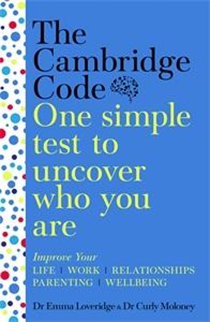 The Cambridge Code – A Test To Uncover Who You Are | Dr Emma Loveridge image