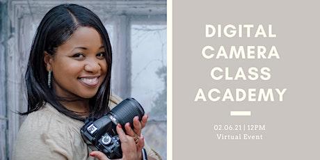 Digital Camera Class Academy tickets